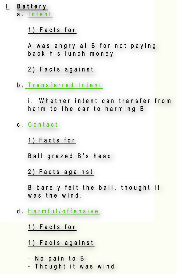 Science Essay Topic  Sample Business Essay also Persuasive Essay Topics For High School Bar Exam Essays Part  Write A Good Outline  Bar Exam Example Thesis Statements For Essays