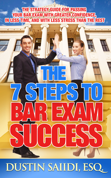 Post image for The 7 Steps to Bar Exam Success Review
