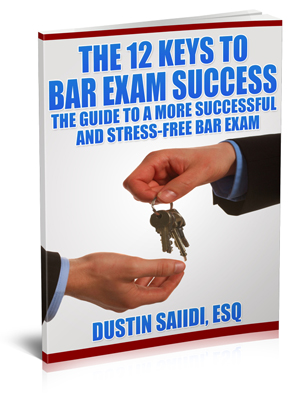 Post image for Grab Your Complimentary Copy of The 12 Keys to Bar Exam Success!